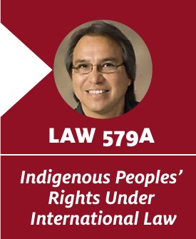 Indigenous Peoples' Rights Under International Law. LAW 579A. S. James Anaya